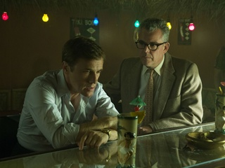 Christoph Waltz and Danny Huston in Big Eyes