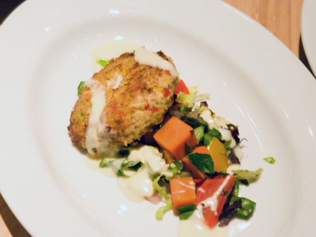Fish and The Knife Crab Cake