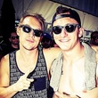 Johnny Manziel partying in Las Vegas with L.A. D.J. Diplo May 2014