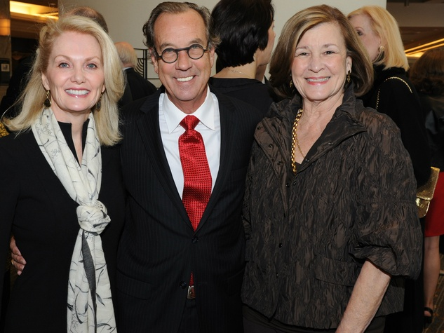 Nancy Marcus, Jeff Morris, Dr. Gail Thomas, national philanthropy day awards