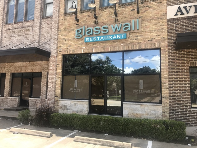 Bosscat Kitchen Heights Glass Wall exterior