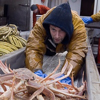 Edgar Hansen, Deadliest Catch, crabs