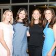 24 269-Peyton Popp, from left, Leslie Pitts, Anne Calder and Alana Highberger at the Casa de Esperanza benefit April 2014
