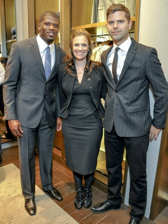 06, Andre Johnson/Burberry, December 2012, Andre Johnson, Misti Garcia, Brett Fahlgren