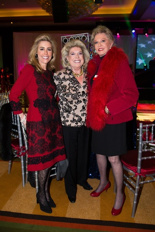 15 Linda Lyons Brown, from left, Joan Lyons and Dallas Hill at The Social Book 2015 Launch Party January 2015