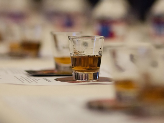 Woodford Reserve whiskey tasting