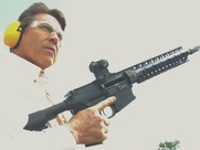 Rick Perry is pleased with his gun ownership
