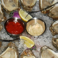 Danton's Gulf Coast Seafood Kitchen oysters on the half-shell