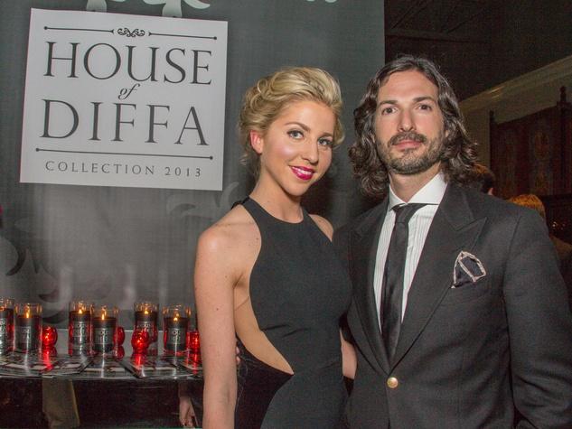 Laura Noble, Dogan Perese at House of DIFFA