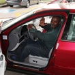 Jerome Edmond in new car bought by Patrick Henry February 2014
