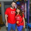 9 Matt Eyman and Farrah Akhtar at the Children's Museum Freak Out Friday June 2014.