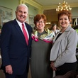 Mark Wallace, from left, Maggie Austin and Shannon Wallace at the Blue Bird Circle Luncheon May 2014
