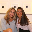 2735 Sarah Hartland, left, and Anne Burgot at the Crimson grand opening party July 2014