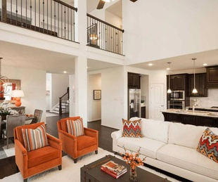 Meridiana Houston Highland model home