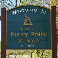Piney Point Village sign