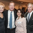 7852 Leisa Holland-Nelson, from left, Neil Bush, Maria Bush and Jack Christie at the Mayor's Literacy Breakfast May 2014