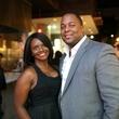 Keisha and Will Cooper at Ruggles Black Grand Opening October 2014.