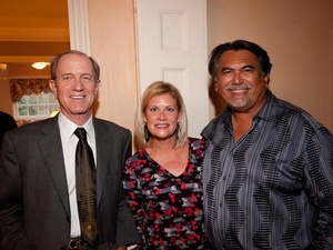 Brad Bucher, Kelli Blanton and Jesus Morolos