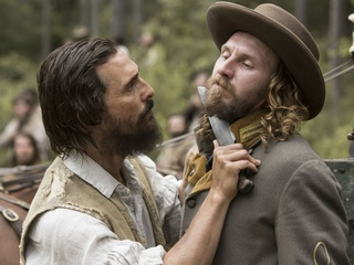 Matthew McConaughey and Bill Tangradi in Free State of Jones