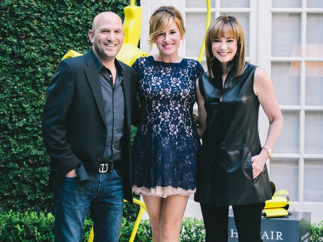 1 Drybar launch event September 2013 Michael Landau, Alli Webb and Janet Gurwitch