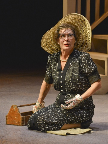 Annalee Jefferies in Dallas Theater Center's Driving Miss Daisy