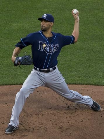 David Price of Tampa Bay Rays