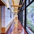 On the Market 12020 Tall Oaks St. Frank Lloyd Wright house July 2014 hall