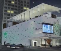 Contemporary Austin Jones Center rooftop rendering