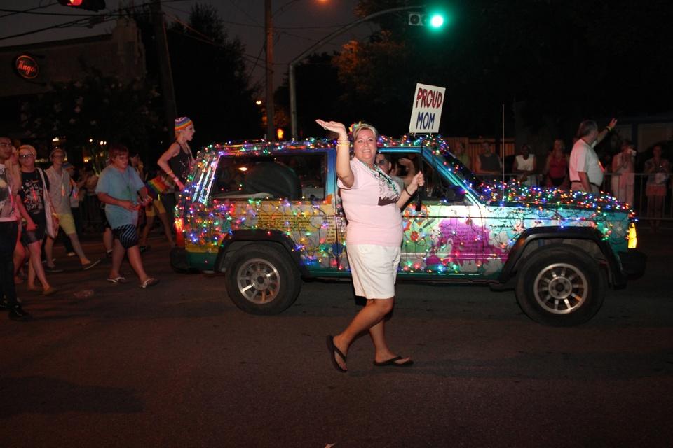 Gay Pride Parade, Proud Mom, June 2012