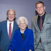 News, Tarra Gaines, Celebration of Reading, April 2015, President George W. Bush; First Lady Barbara Bush; J.J. Watt