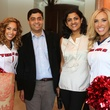 Friday Night Lights kick off Texan Cheerleaders with Dr Vivek Subbiah and Dr Ishwaria Subbiah