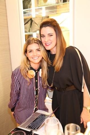 DJ Christina Mannino at Elaine Turner New York Fashion Week launch party September 2014