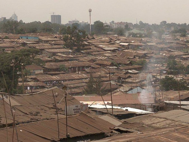 Mondo Cinema, Greedy Lying Bastards, The skyline of Kiberia Shanty Town in Nairobi, one of the largest in the world. Nairobi, 2010