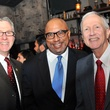 Stephen Costello, from left, Thomas Jones and Vince Ryan at the Mayor's Hispanic Advisory Board Holiday Party December 2013