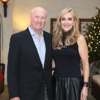 Scotty and Jana Arnoldy at St. Luke's holiday party December 2014