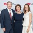Former First Lady Laura Bush, Amanda  and G. Brint Ryan, FWC Luncheon