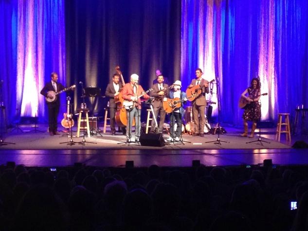 Paul Simon, Edie Brickell, Steve Martin at Houston Symphony concert July 2014