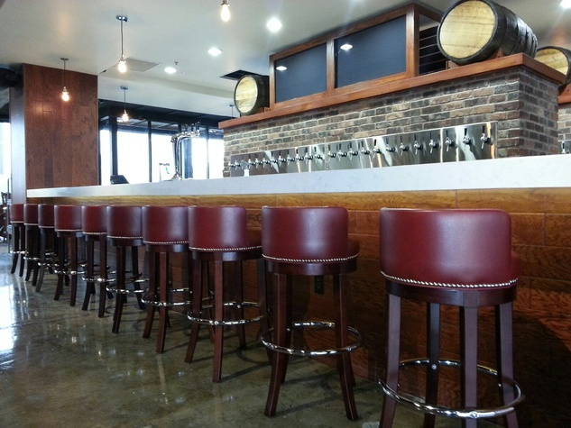3rd Floor Bar Houston Bar Stools At Bar
