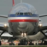 American Airlines, plane, jet, December 2012