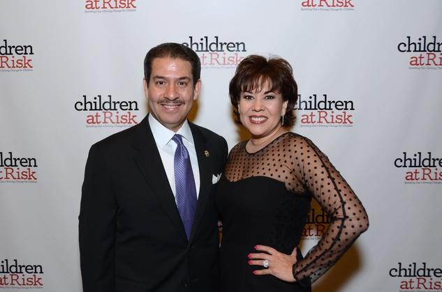 News, Shelby, Children at Risk gala, April 2015,  Adrian Garcia, Monica Garcia
