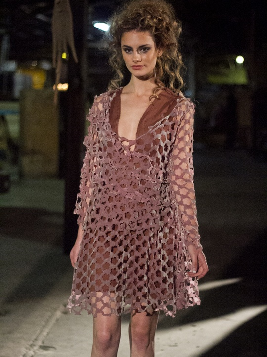 Gail Chovan Aesthetic Ghosts Fashion Show in Austin 6416