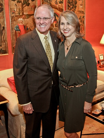The Nature Conservancy luncheon, October 2012, Dick Hansen, Susan Hansen