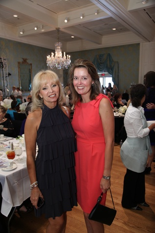 21 Tama Brantley, left, and Alexis Kennedy at the Junior League Fall Luncheon September 2014
