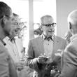 William D. Dobbs, left, and Terry Zmyslo at Alex Martinez's birthday party July 2014