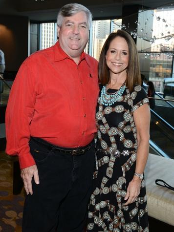 Mike & Diane Gruber, st jude, night under the stars