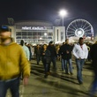 17 Crowd at Reliant Stadium at the Houston Rodeo barbecue cook-off February 2014