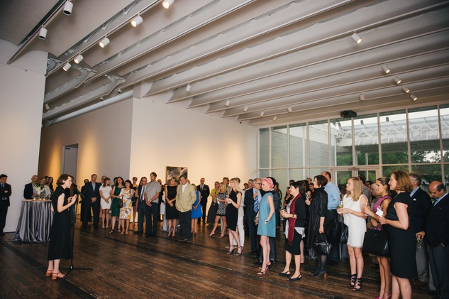 Susan Sutton at the Charles James exhibit preview party at the Menil June 2014