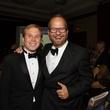 Pierce Bush, left, and Chris Seay at the Big Brothers Big Sisters Gala September 2014