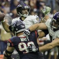 Joe Flacco Watt Texans
