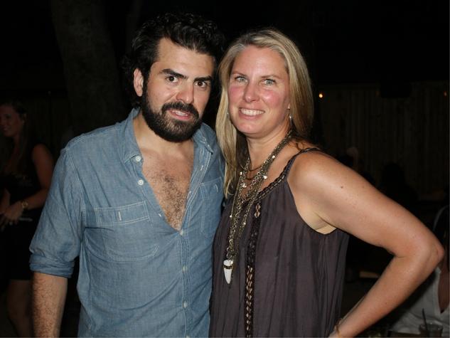 Francisco Rizo, Trisha Boulogne, Ivy Tavern Opening Party